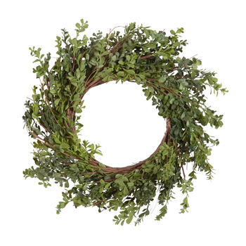 "26"" Boxwood Artificial Wreath view 1"