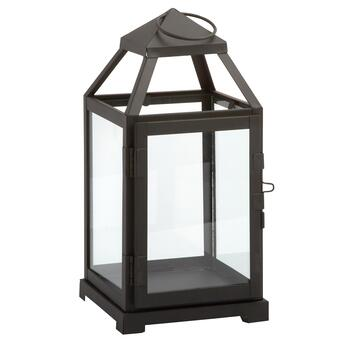 "10"" Decorative Metal Lantern"