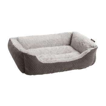 "21"" Gray Cuddler Pet Bed view 1"