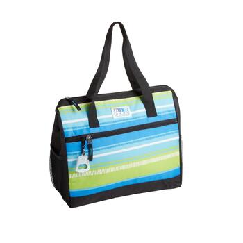Striped Family Insulated Tote