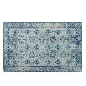 Blue Venezia Tapestry All-Weather Rug