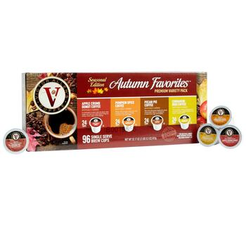 Victor Allen's® Autumn Favorites Single Serve Coffee Pods, 96-Count