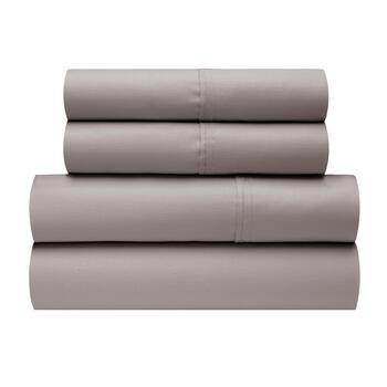 1050-Thread Count Solid Cotton Blend Sheet Set