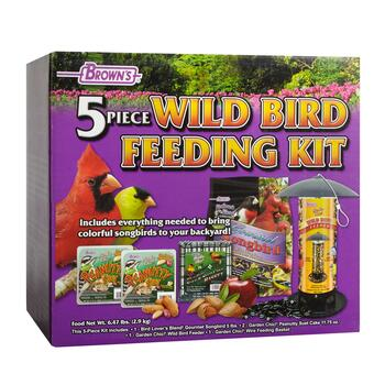Wild Bird Feeding Kit, 5-Piece