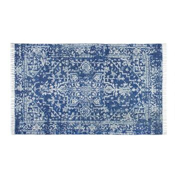 The Grainhouse™ 5'x8' Blue Chenille Rug