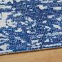 The Grainhouse™ 5'x8' Blue Chenille Rug view 2