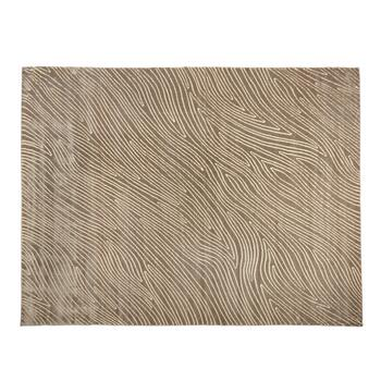 Beige Wood Grain Area Rug