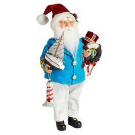 "16"" Nautical Santa Figure"
