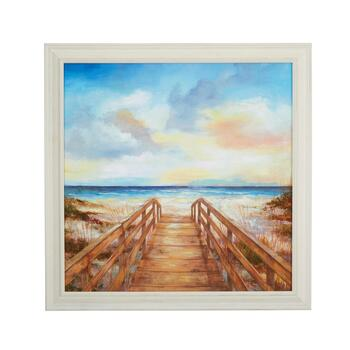 "24"" Pier Scene Wall Decor"