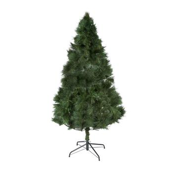 6' Extra Long Needle Artificial Green Christmas Tree