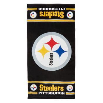 "30""x60"" Pittsburgh Steelers Cotton Beach Towel"