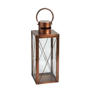 "17"" Verona Indoor/Outdoor Metal Candle Holder"