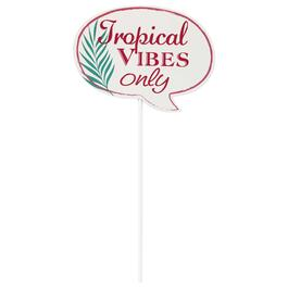 Tropical 10-Piece Photo Booth Props view 1
