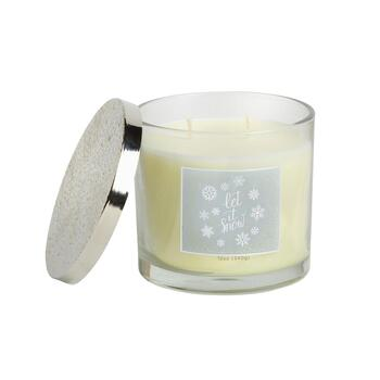 """Let It Snow"" 12-oz. Scented Candle"