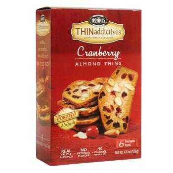 Nonni's® THINaddictives™ Cranberry Almond Thins, 6 Boxes
