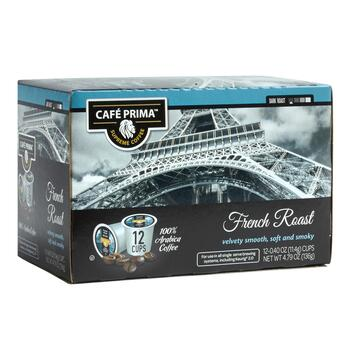 Café Prima™ French Roast Pods, 6 Boxes