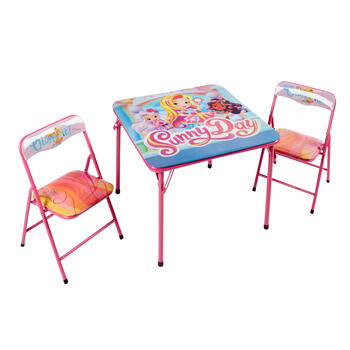 Sunny Day™ Children's Folding Table and Chairs Set, 3-Piece view 1
