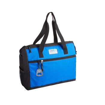 Blue/Black Family Insulated Tote