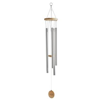 Silver Tubular Metal Wind Chime