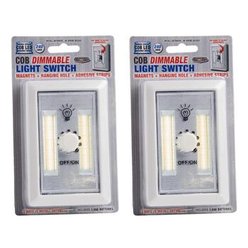COB LED Dimmable Light Switches, Set of 2