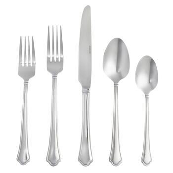 Bistro Basics Capri Flatware Set, 20-Piece