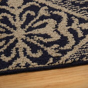5' x 7' Majestic Taupe/Black Area Rug view 2