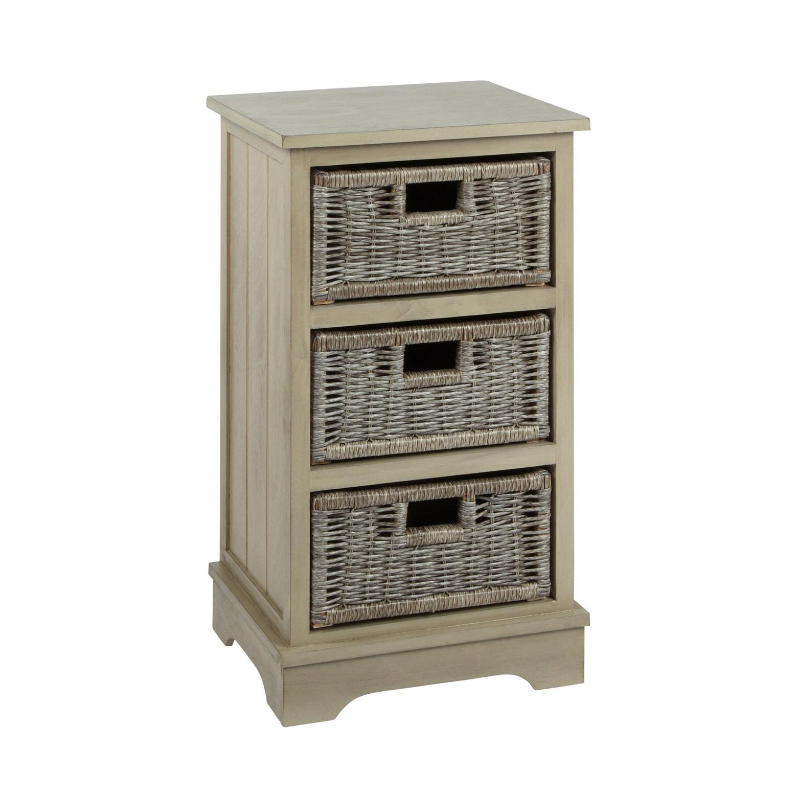 storage cabinet with doors and drawers. Charlotte Gray 3-Basket Storage Cabinet Storage Cabinet With Doors And Drawers