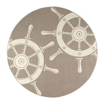 Ship's Wheel All-Weather Area Rug view 3