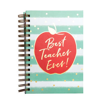 """Best Teacher Ever!"" Journals, Set of 2 view 1"