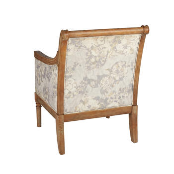 Blush Country Accent Chair view 2