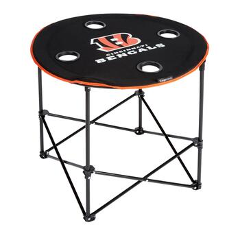 NFL Cincinnati Bengals Folding Table