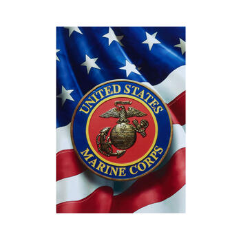 "11""x15"" ""United States Marine Corps"" Wood Wall Decor view 1"