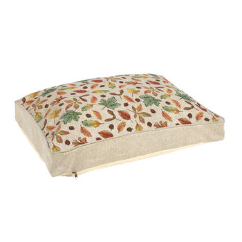 Fall Leaves Cotton-Blend Pet Bed view 1