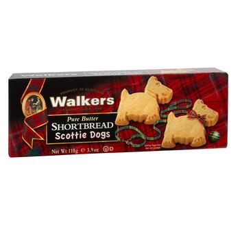 Walkers Pure Butter Shortbread Scottie Dog Cookies, 12 Boxes