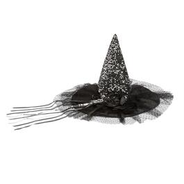 Silver Embellished Witch's Hat