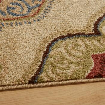 Multicolor Geometric Floral Area Rug view 2