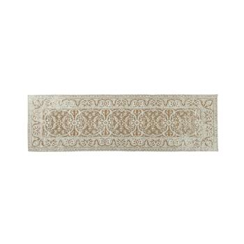 Beige Venezia Tapestry All-Weather Rug view 2 view 3