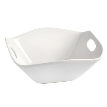 Icarus Modern Square Serving Bowl