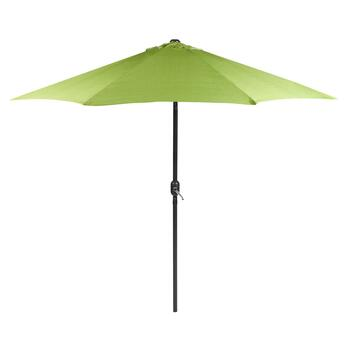 9' Lime Textured Market Umbrella