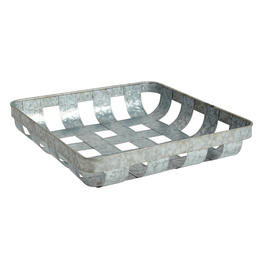 The Grainhouse™ Woven Metal Storage Basket view 1