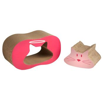 Cat Scratcher and Catnip Set