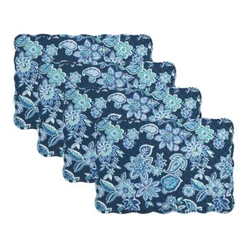 Traditions by Waverly® Charismatic Floral Quilted Placemats, Set of 4