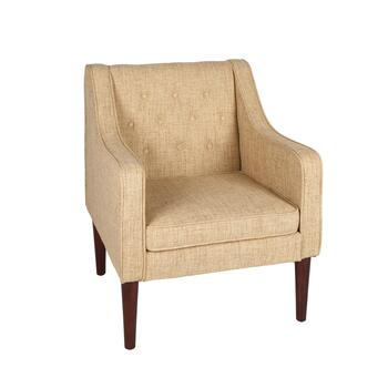Noda Solid Tufted Upholstery Accent Chair