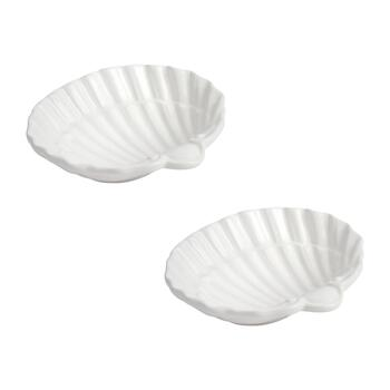 9-Oz. Medium Shell Serving Bowls, Set of 2