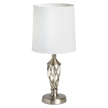 "17.25"" Metal Spiral Accent Lamp"