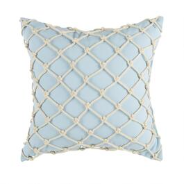 "Coastal Living Seascapes™ 18"" Powder Blue Rope Indoor/Outdoor Throw Pillow"