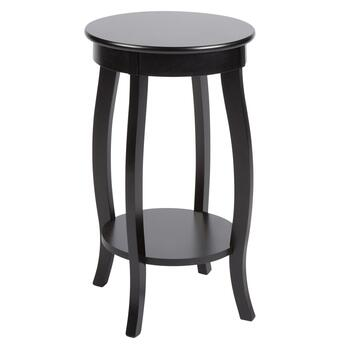 Round Curvy Leg Accent Table