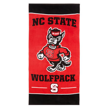 "30""x60"" NCAA NC State Wolfpack® Cotton Beach Towel view 1"