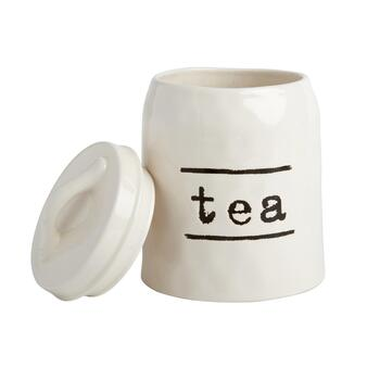 "The Grainhouse™ Typed ""Tea"" Canister"