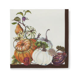 Thanksgiving Squash Lunch Napkins, 60-Count view 1